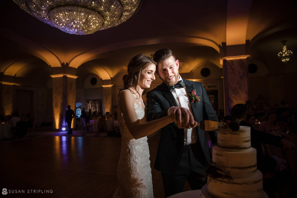 Philly Ritz Carlton Hotel Wedding Reception